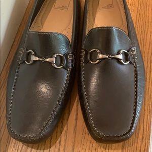 14th & Union Men's Slip On Black Leather